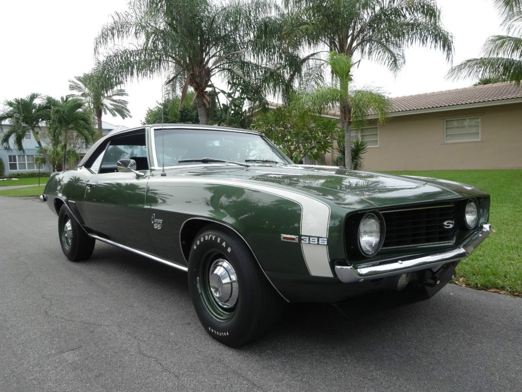 1969 Chevrolet Camaro Ss396 L89 For Sale