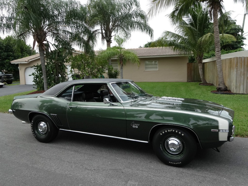 1969 Chevrolet Camaro Ss396 L89 For Sale