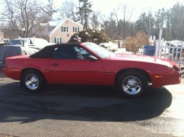 1987 chevrolet camaro convertible for sale. Black Bedroom Furniture Sets. Home Design Ideas