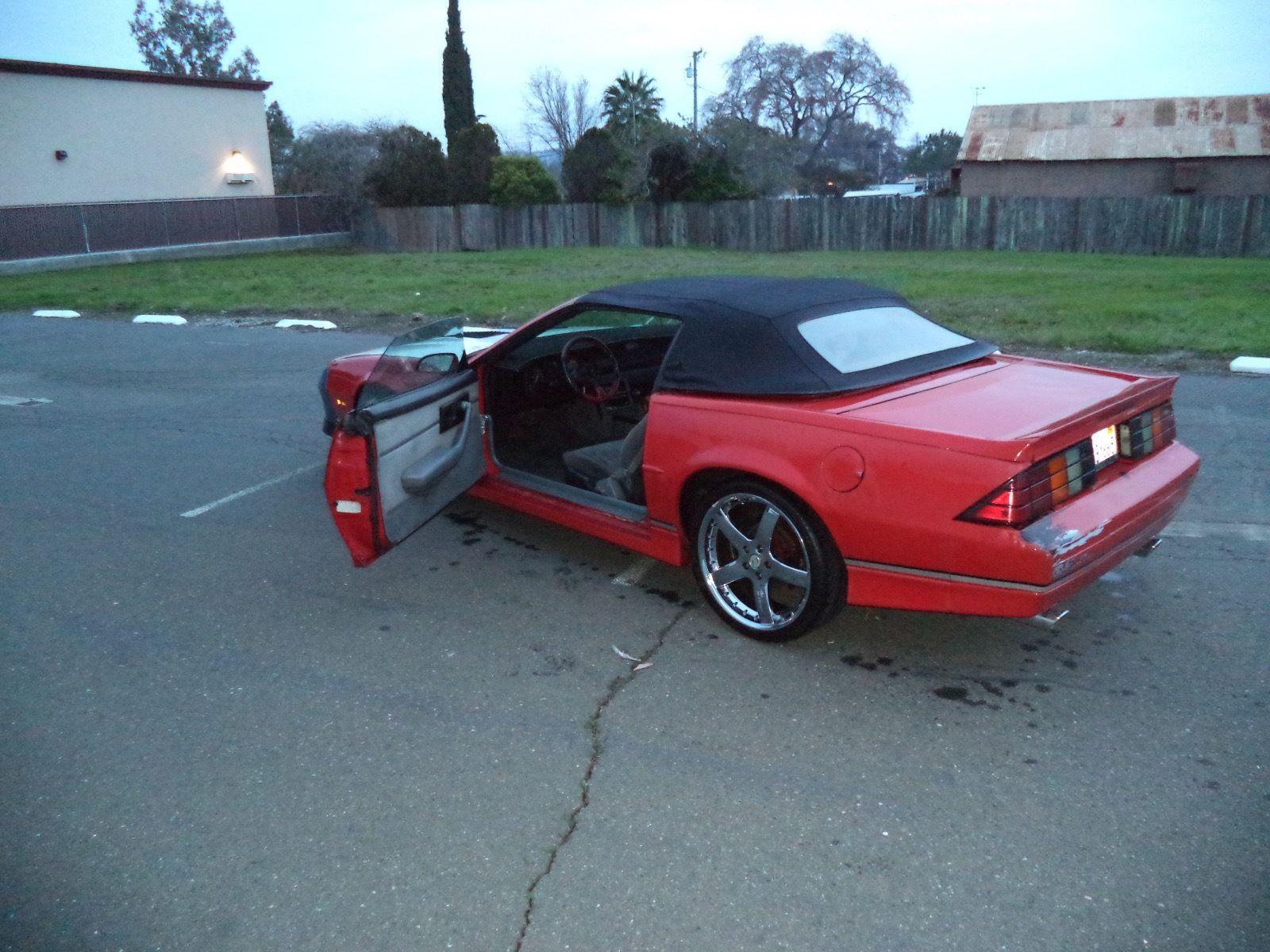 1989 Chevrolet Camaro Z 28 Iroc Z Convertible For Sale