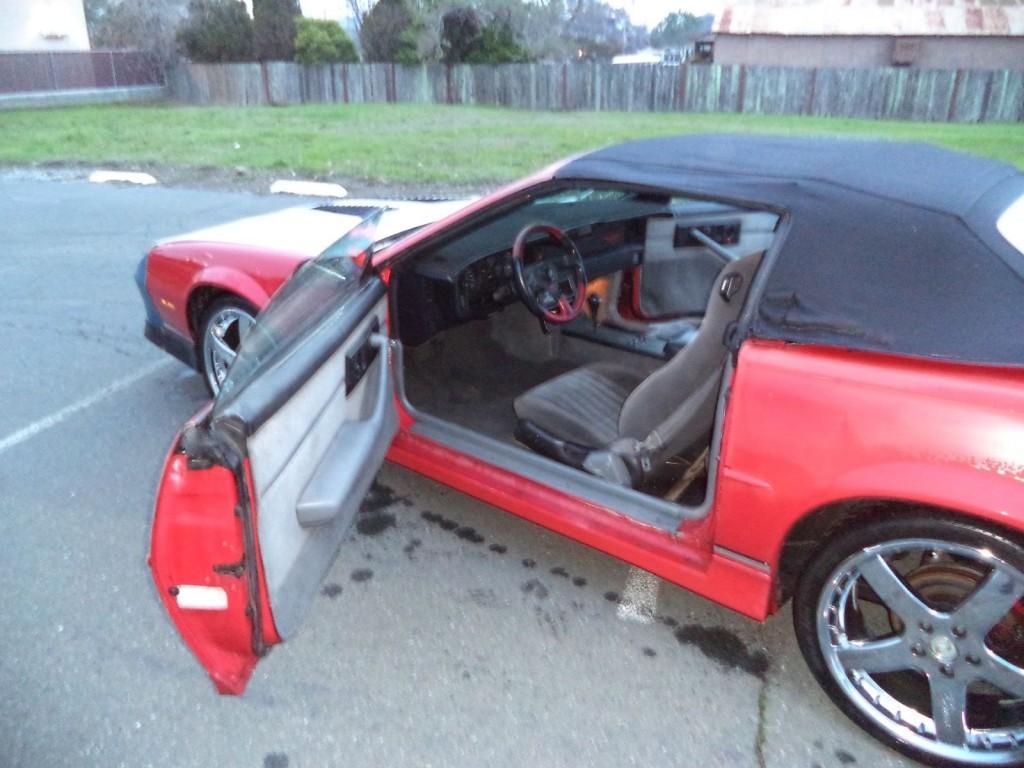 1989 Chevrolet Camaro Z 28 IROC-Z Convertible