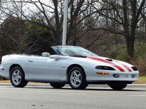 1997 Chevrolet Camaro SS Convertible 30th Anniversary Package for sale