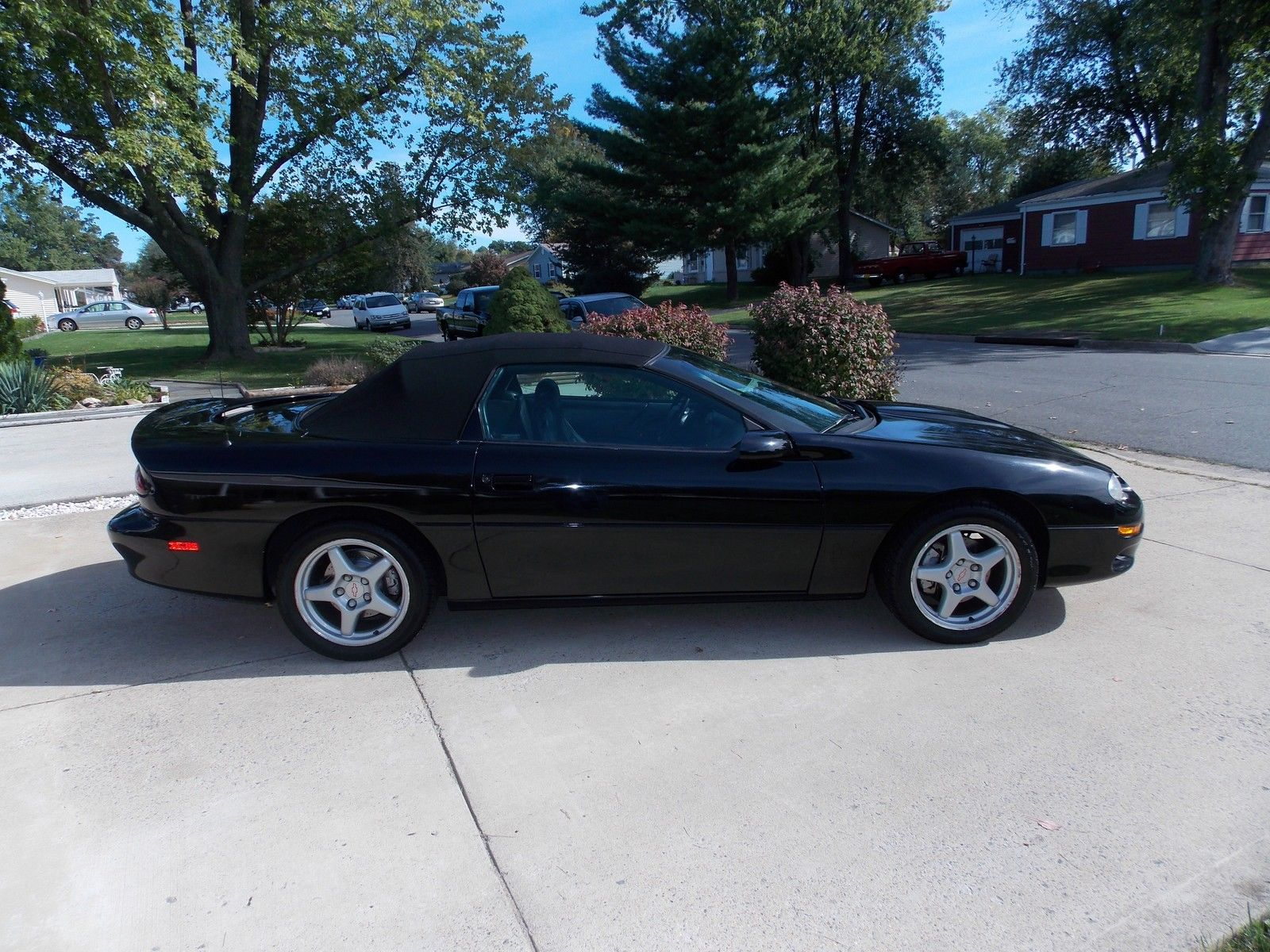 2000 Chevrolet Camaro Z28 Ss Convertible 2 Door 5 7l For Sale