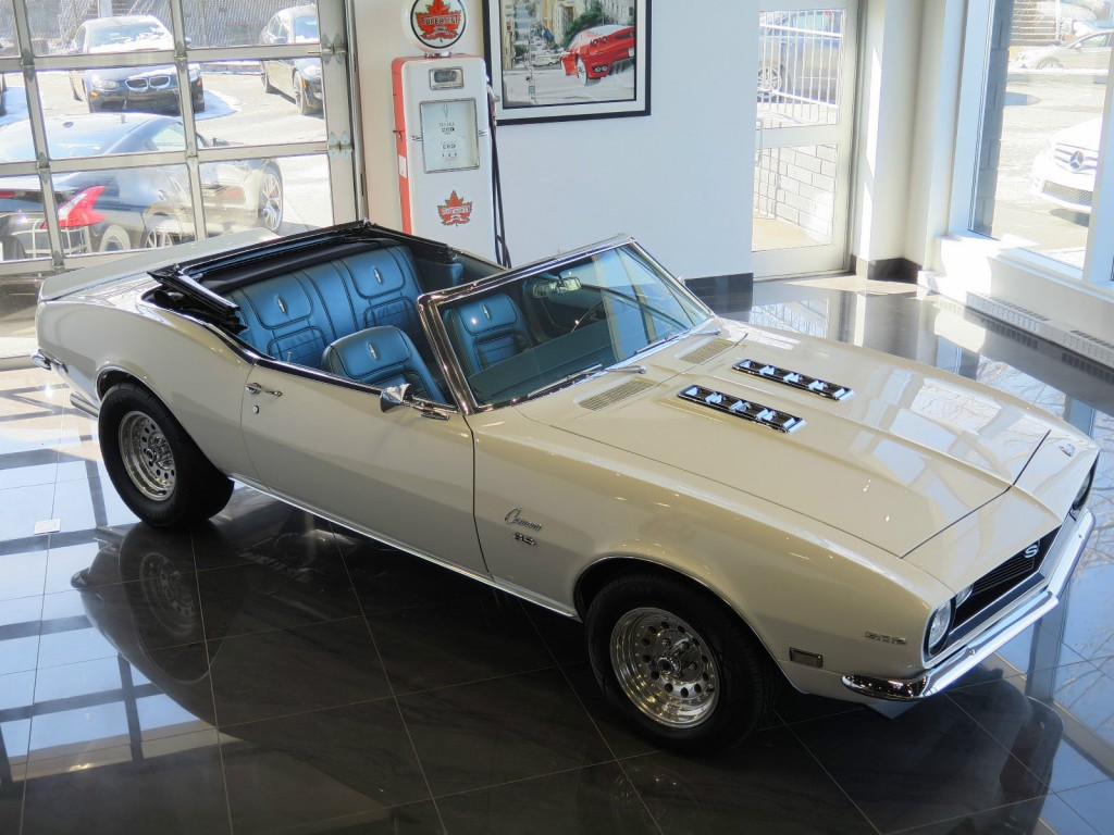 1968 Chevrolet Camaro Ss Convertible 502 Gm Documented