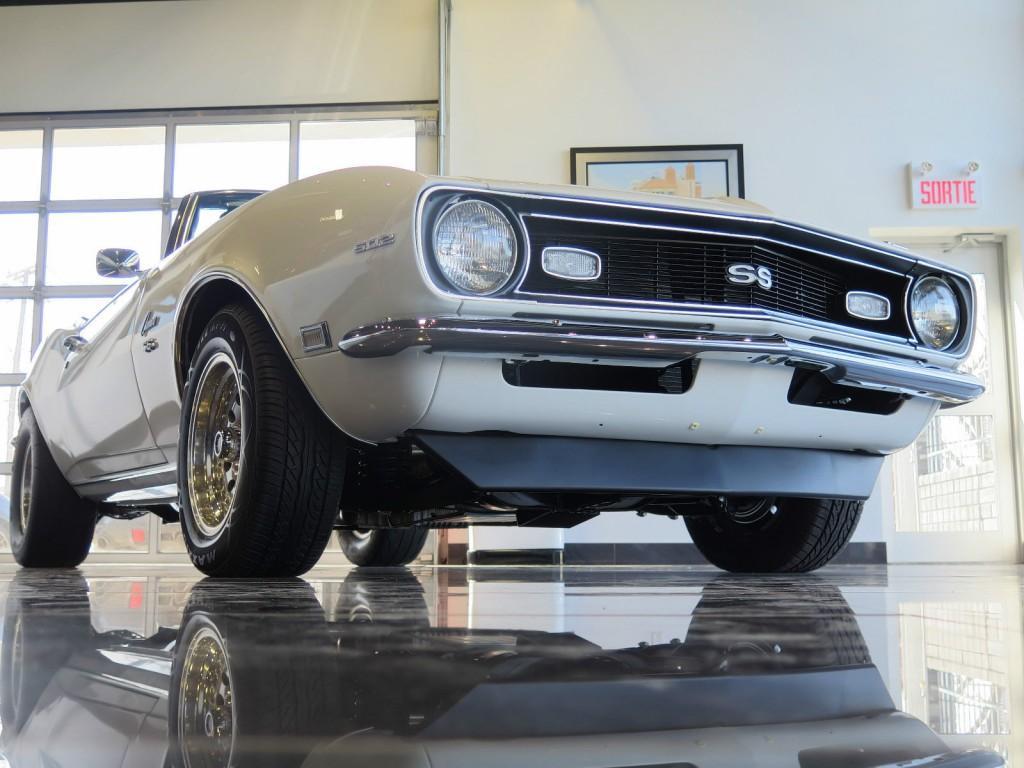 1968 Chevrolet Camaro Ss Convertible 502 Gm Documented