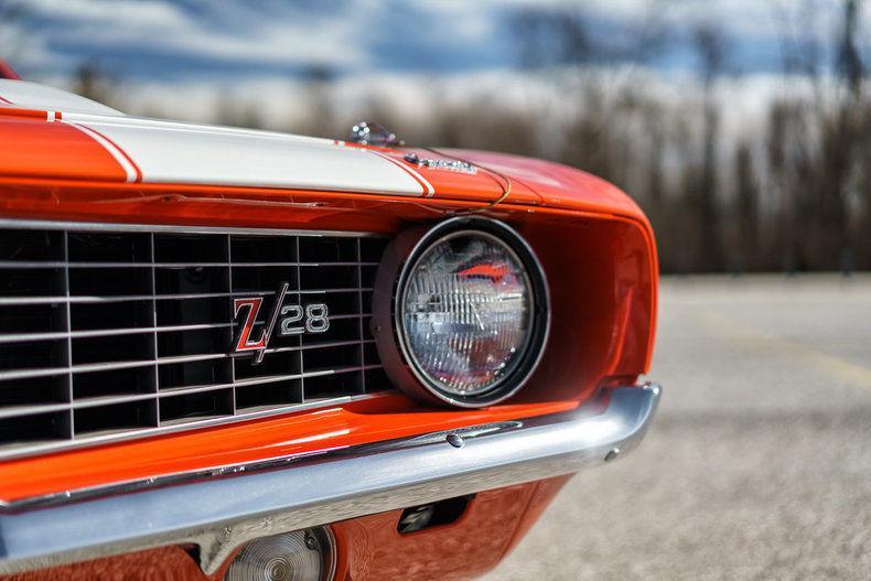 1969 Chevrolet Camaro Z 28 For Sale