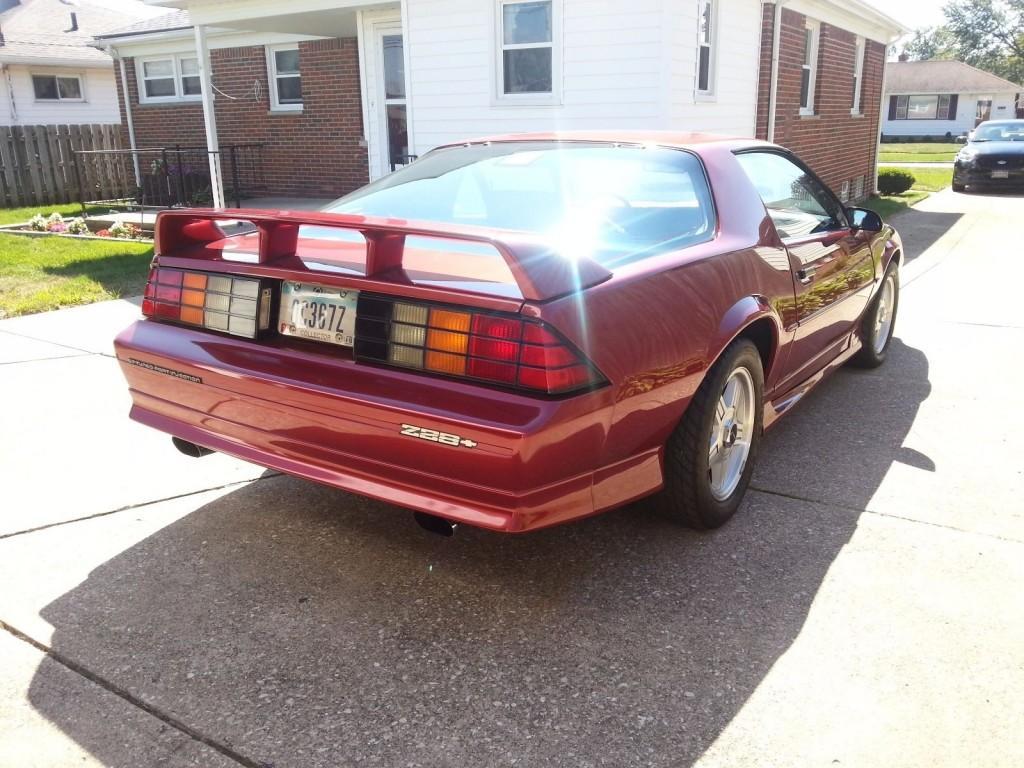 1991 Chevrolet Camaro Z28 For Sale