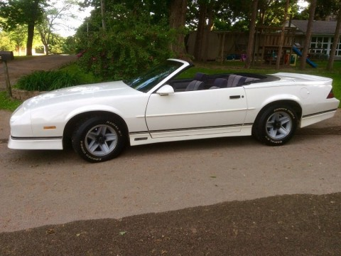 1989 Chevrolet Camaro RS Convertible for sale