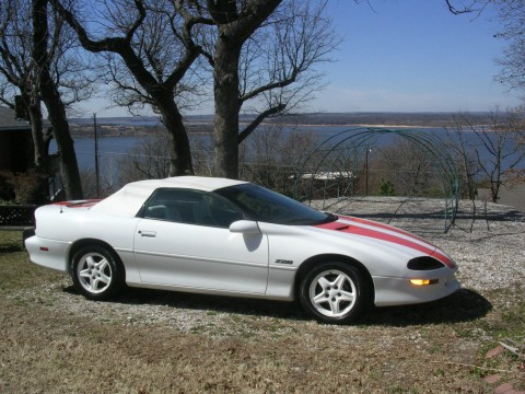 1997 Chevrolet Camaro Z28 Anniversary Convertible for sale