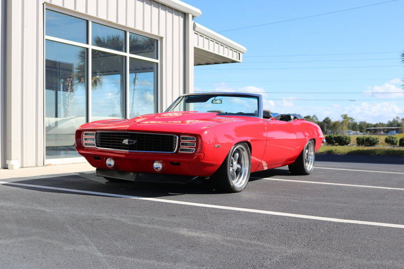 1969 Chevrolet Camaro Convertible For Sale