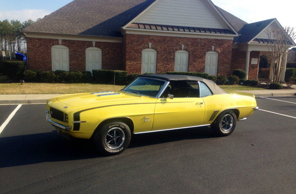 1969 Chevrolet Camaro Rs Ss For Sale