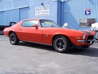 1970 Chevrolet Camaro Ss For Sale