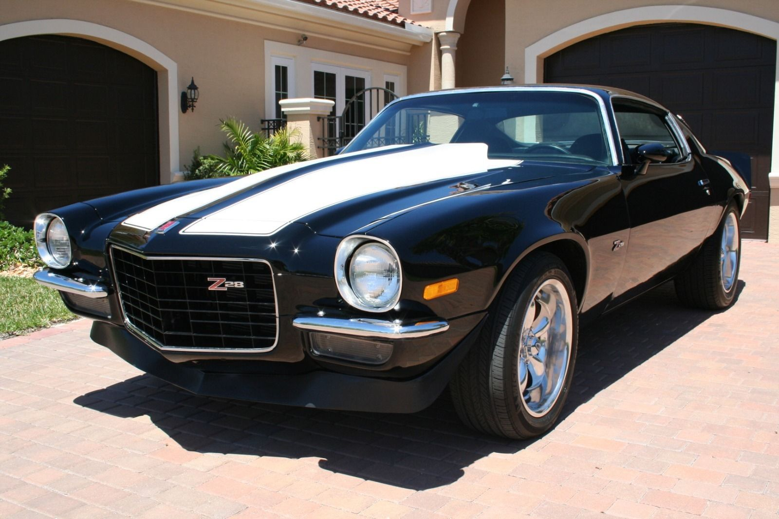 Steering Wheel Restoration >> 1973 Chevrolet Camaro Z/28 Resto Mod LS2 Corvette Motor for sale
