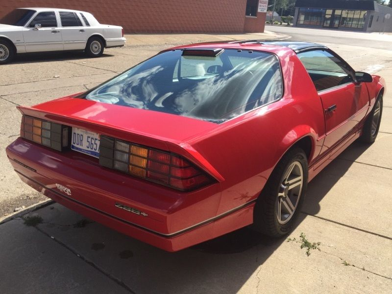 1986 Chevrolet Camaro Iroc Z For Sale