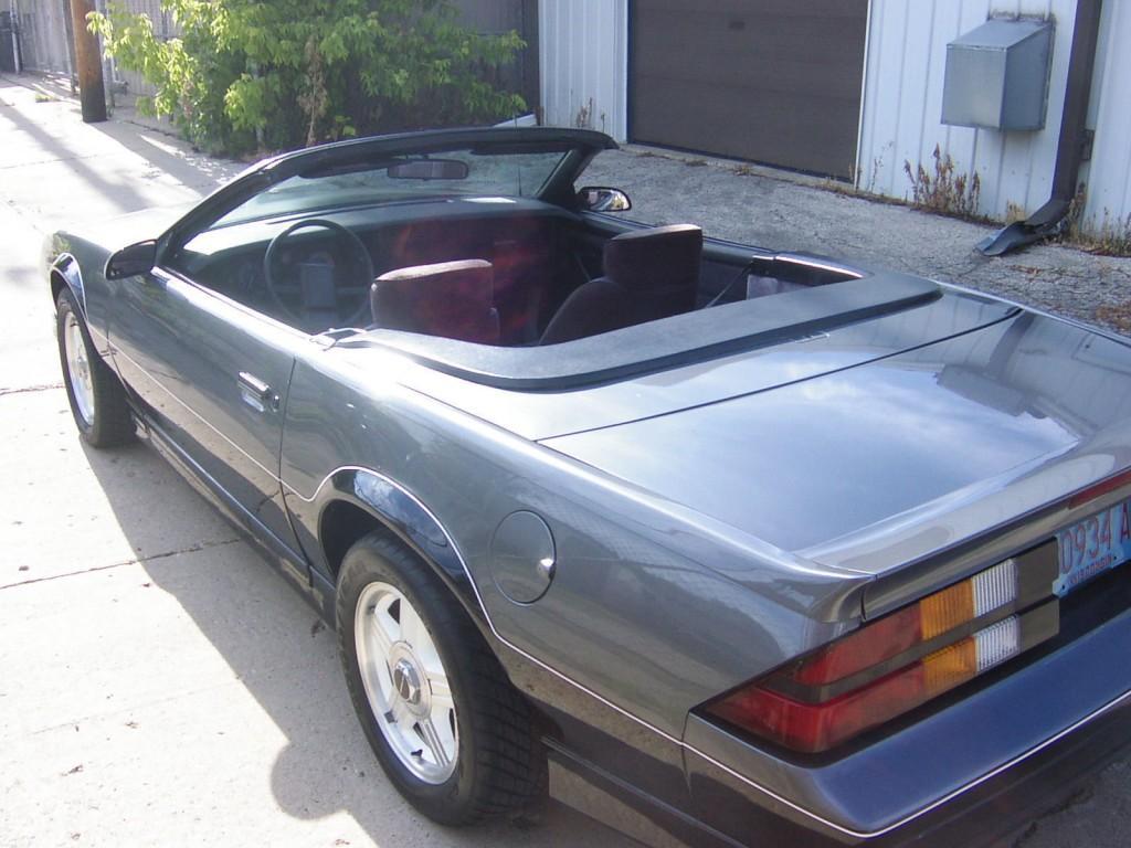 1989 Chevrolet Camaro R/S Convertible