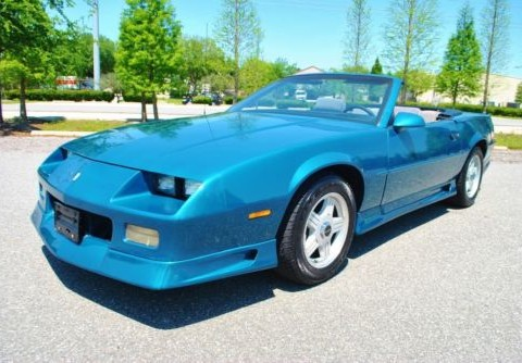 1991 Chevrolet Camaro RS Convertible No reserve for sale