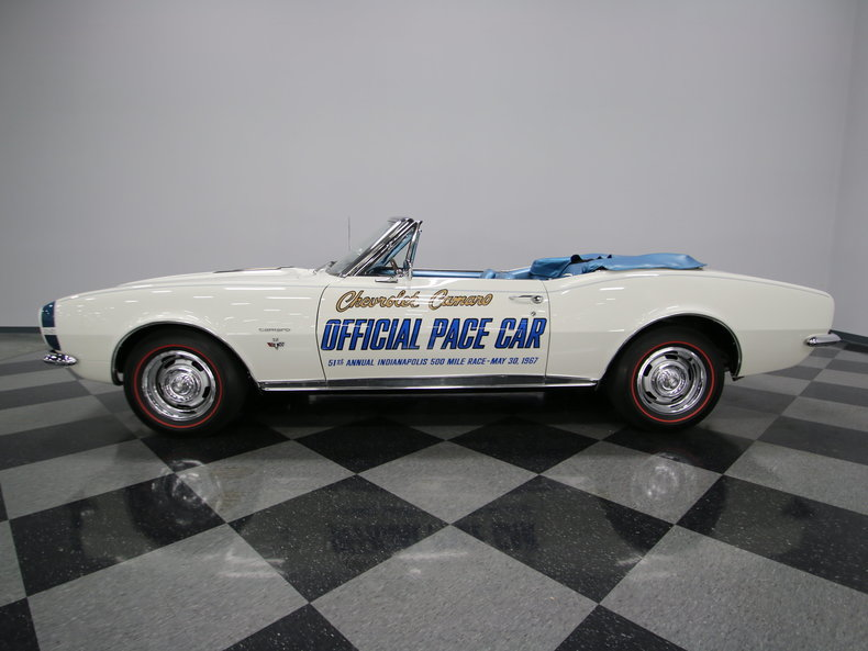 1967 Chevrolet Camaro Convertible Pace Car For Sale