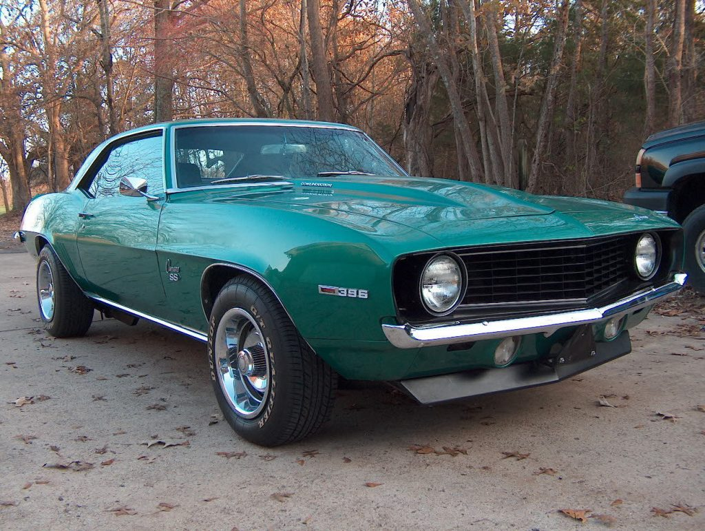 1969 Chevrolet Camaro Ss Coupe For Sale