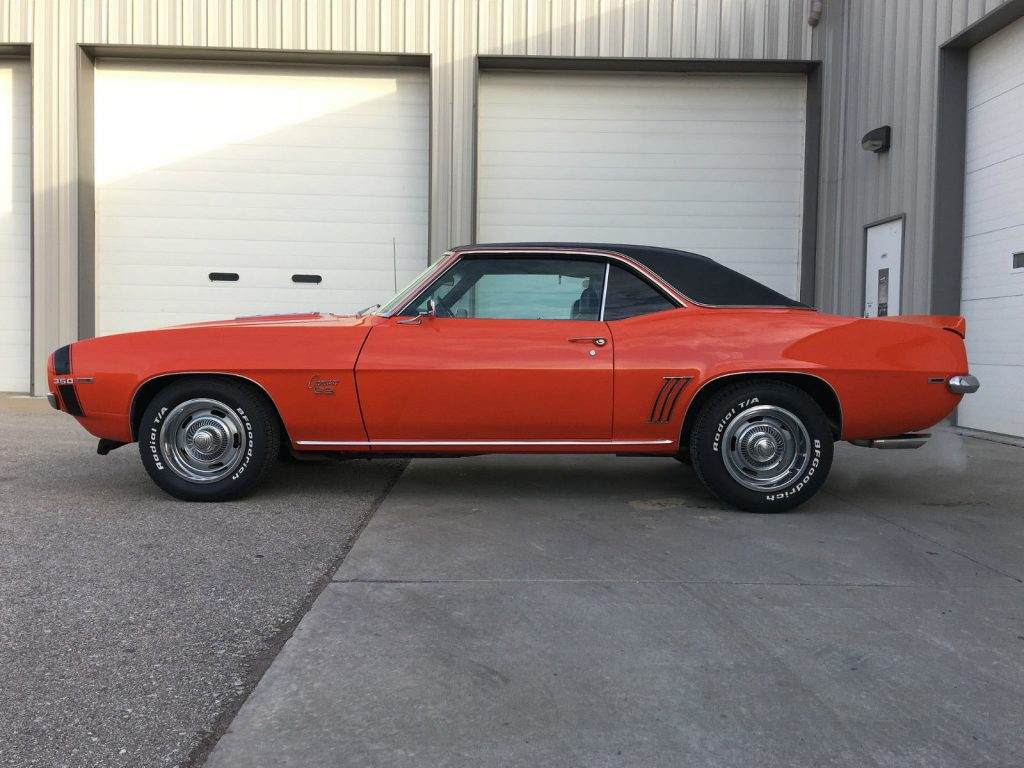 1969 Chevrolet Camaro Ss For Sale