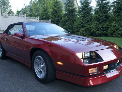 1990 Chevrolet Camaro Iroc Z For Sale