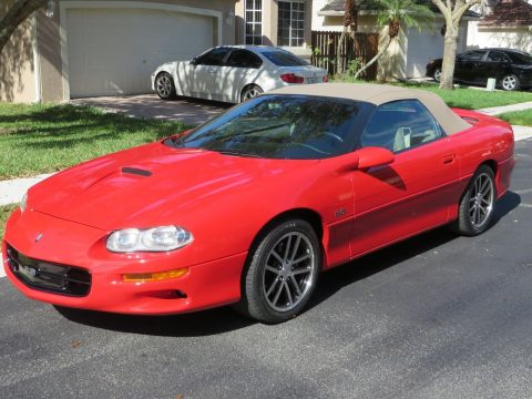 2002 Chevrolet Camaro SS CONVERTIBLE for sale