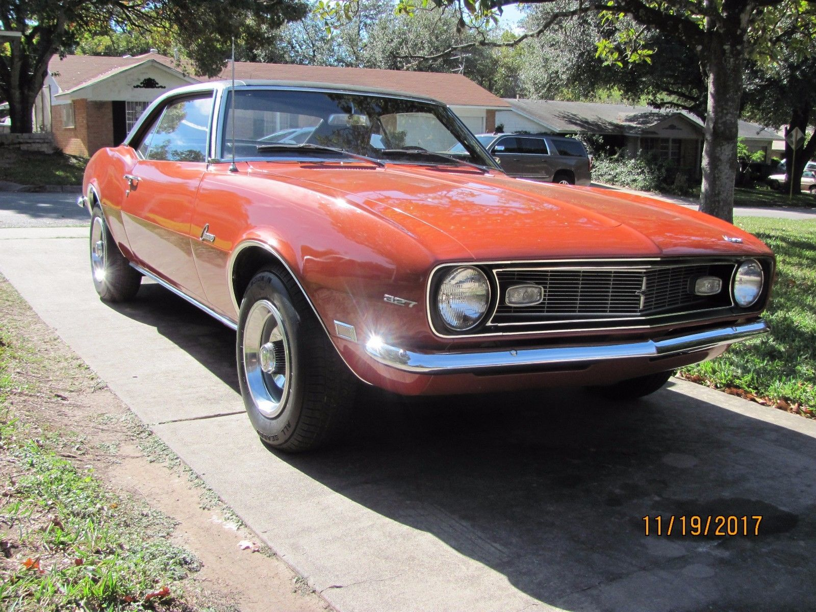 Rust Free 1968 Chevrolet Camaro Coupe For Sale