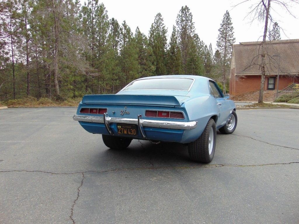 barn find 1969 Chevrolet Camaro Z/28