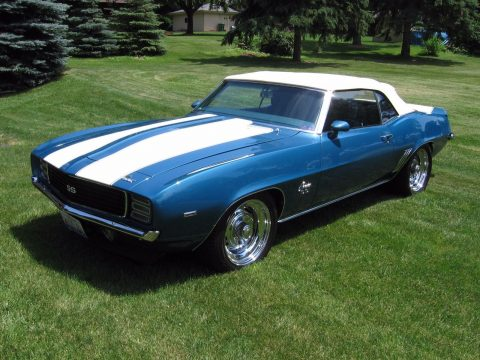 breathtaking 1969 Chevrolet Camaro Rs/ss 427cid 650hp for sale