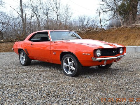 completely restored 1969 Chevrolet Camaro SS 350 for sale