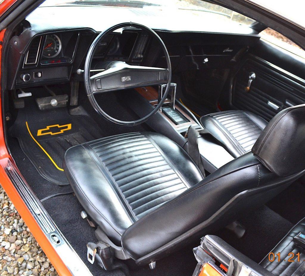 completely restored 1969 Chevrolet Camaro SS 350