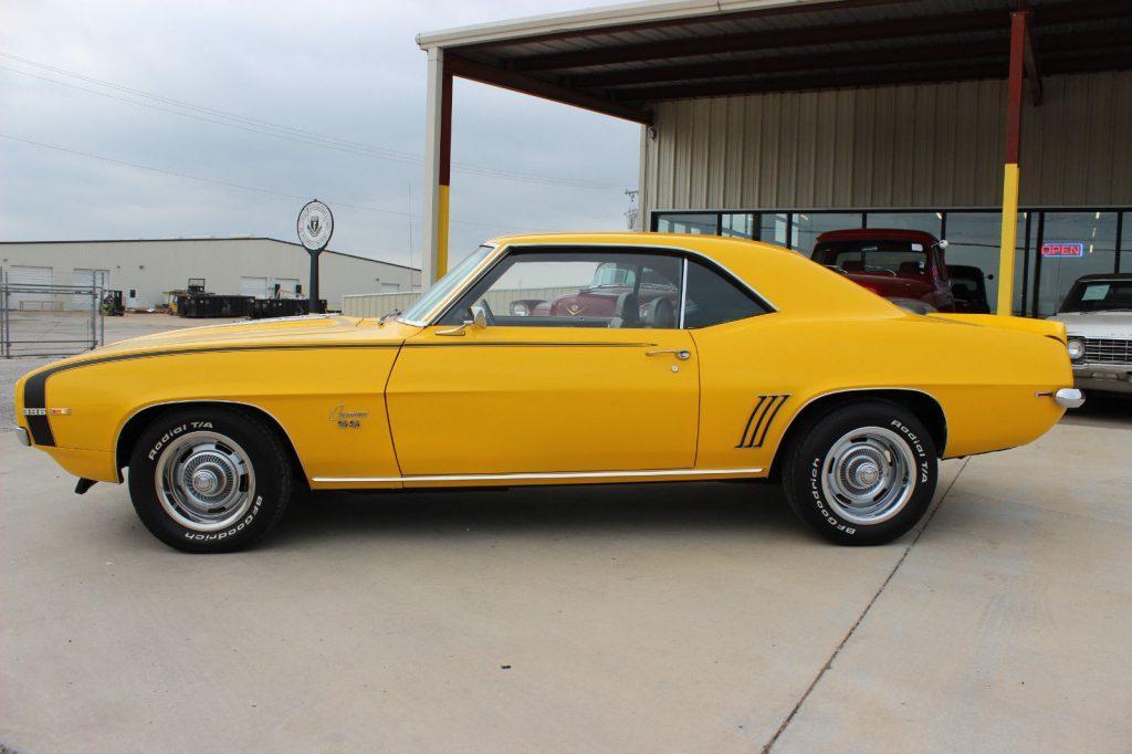 completely restored 1969 Chevrolet Camaro Super Sport coupe