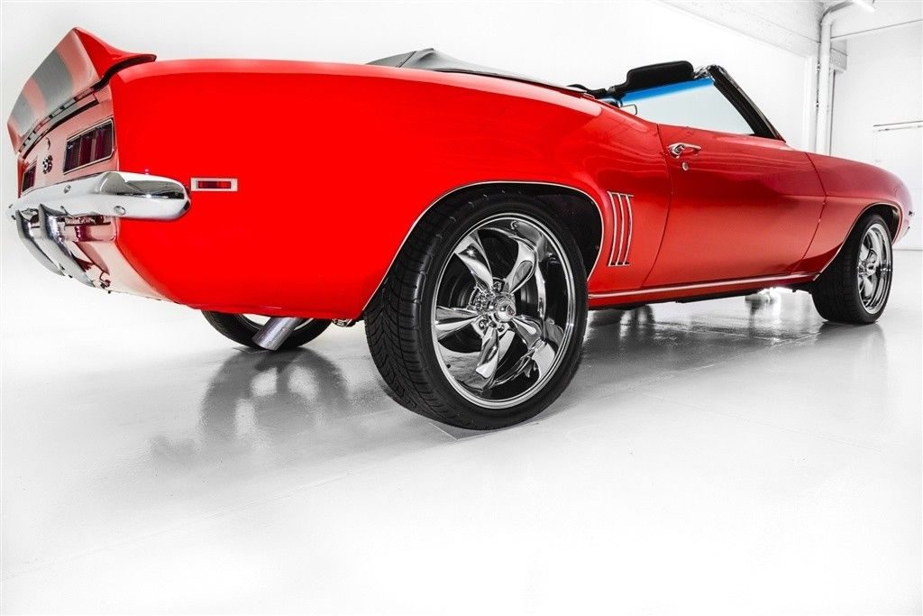 custom wheels 1969 Chevrolet Camaro Convertible