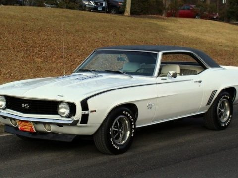 detailed 1969 Chevrolet Camaro SS 396 for sale
