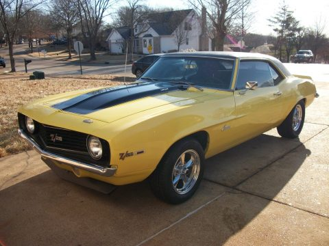 garage kept 1969 Chevrolet Camaro Z/28 for sale