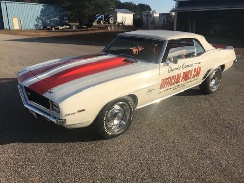 genuine 1969 Chevrolet Camaro Rs/ss Pace Car Convertible for sale