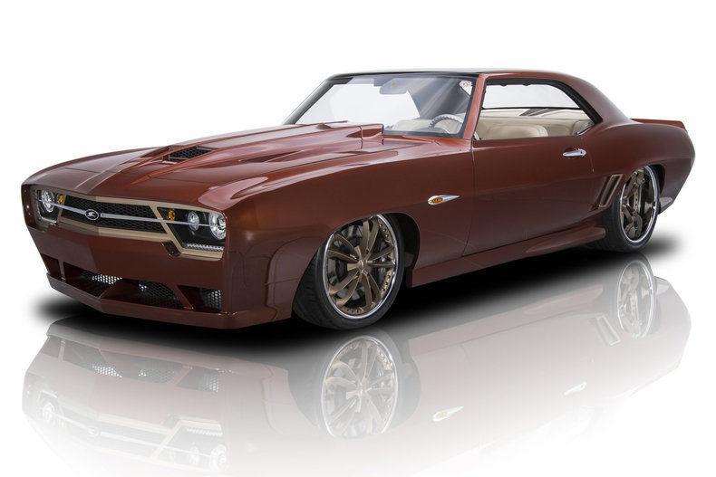 highly customized 1969 Chevrolet Camaro