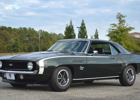 mint condition 1969 Chevrolet Camaro SS