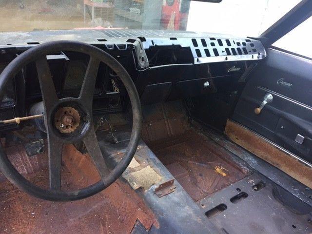 needs work 1969 Chevrolet Camaro