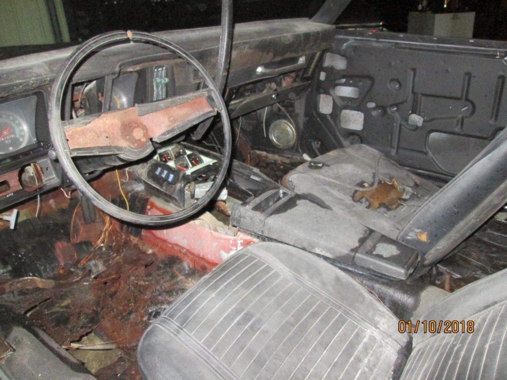 needs work 1969 Chevrolet Camaro Z28