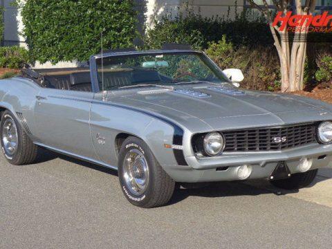 rare 1969 Chevrolet Camaro SS Convertible for sale