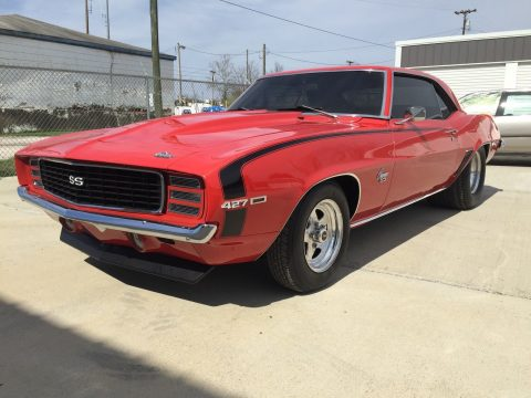very low miles 1969 Chevrolet Camaro SS X 11 for sale
