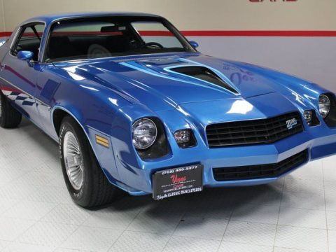 factory AC 1978 Chevrolet Camaro Z28 for sale