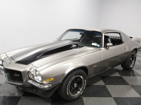 four on the floor 1972 Chevrolet Camaro Z/28 for sale