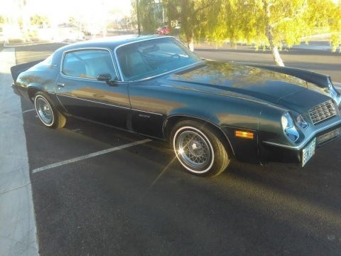 very low miles 1979 Chevrolet Camaro Berlinetta for sale