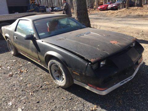 barn find 1984 Chevrolet Camaro z28 for sale