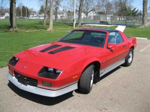 low miles 1985 Chevrolet Camaro 2dr Coupe Z28 Sport for sale