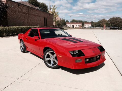 low miles 1990 Chevrolet Camaro Iroc Z/28 for sale