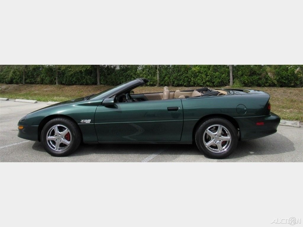 low miles 1995 Chevrolet Camaro Z28 LT1 5.7L Convertible