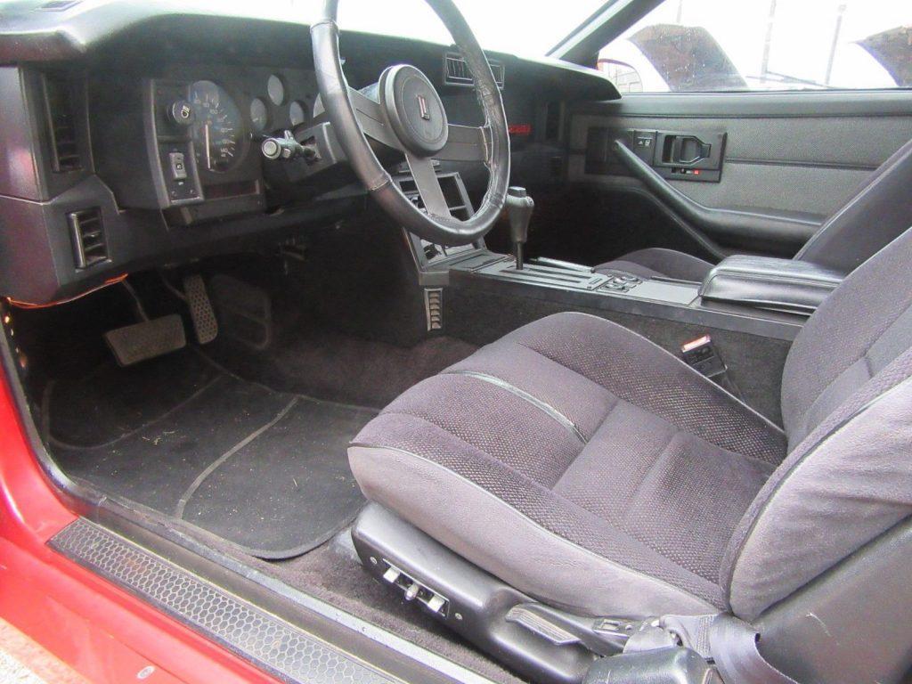 very nice 1988 Chevrolet Camaro IROC Z