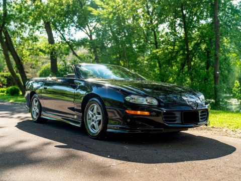 low miles 1998 Chevrolet Camaro Z28 Convertible for sale